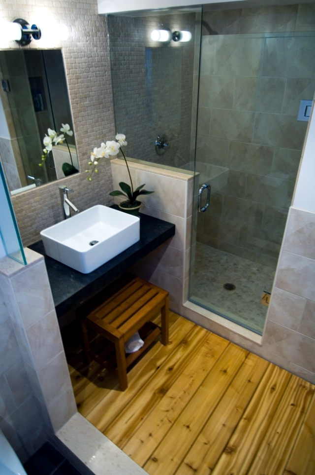 Useful tips for bathroom design harmony in Asian style