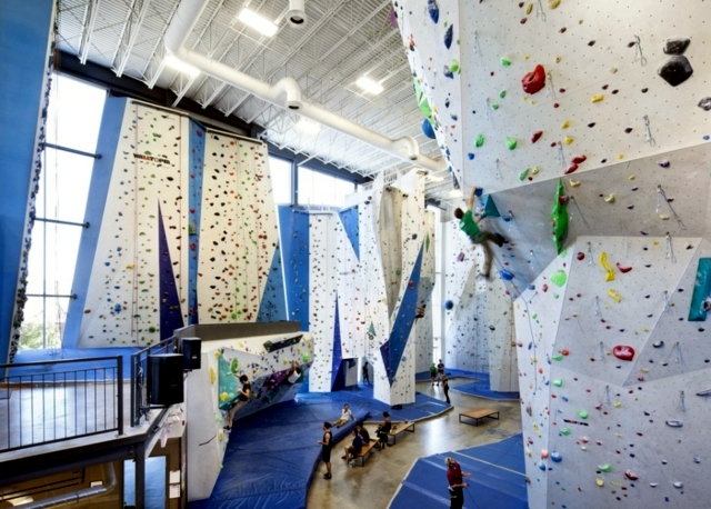 Modern indoor climbing center in Canada offers fun for all the ...