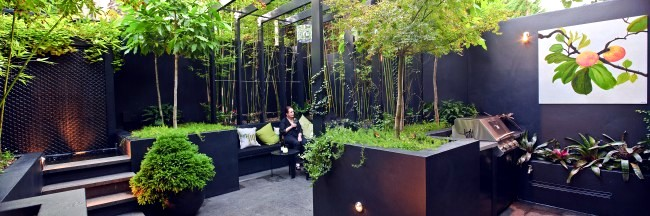 Modern Landscape Architecture In The Garden   Two Exotic Urban Projects