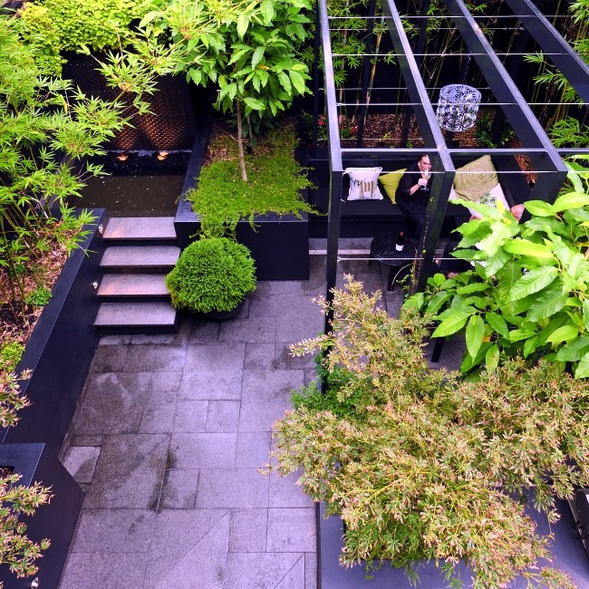 Modern Landscape Architecture in the garden - two exotic urban projects