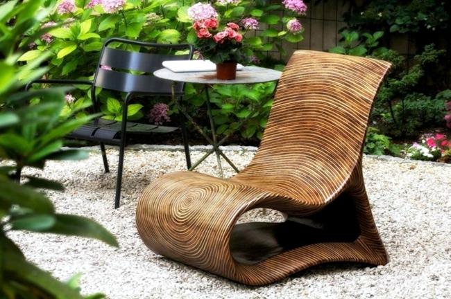 Wooden Chair Brings Exotic Faraway