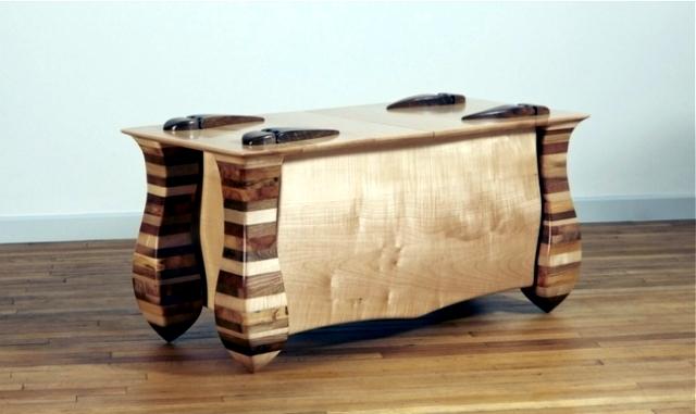 Precipitated by Allan Lake Furniture set in a fairytale world