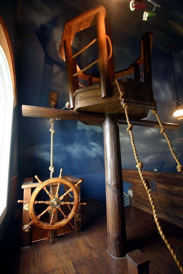 Make-a true child pirate ship is perfect for adventure