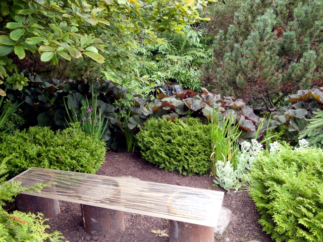 Seating Area in the garden to take advantage of your personal oasis of peace