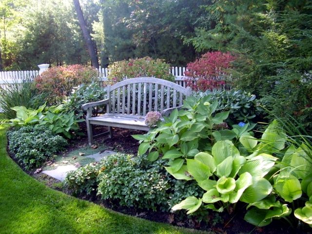 Seating Area In The Garden To Take Advantage Of Your
