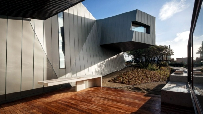 Modern House On The Coast Of Australia With An