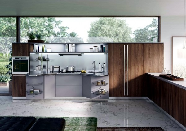 Snaidero Kitchens - 25 models of Italian cuisine in a modern style