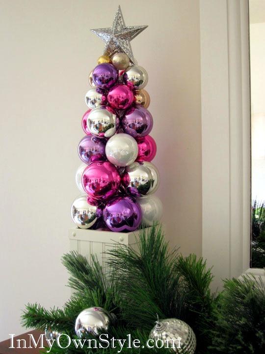 Boilermaker Artificial Christmas Tree - Christmas balls idea