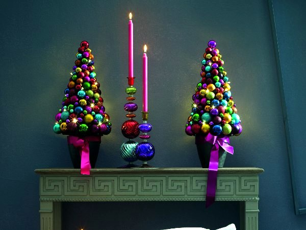 Boilermaker Artificial Christmas Tree - Christmas balls idea