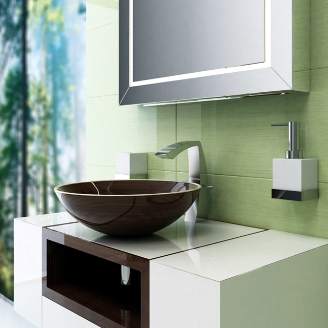 Glamour wooden sink - real eye-catcher in every bathroom!