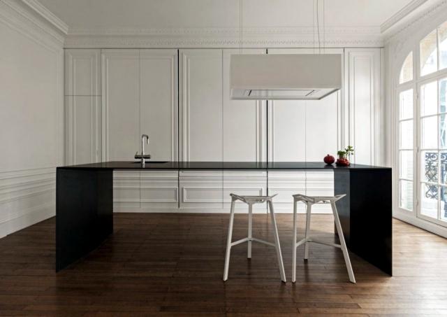 Modern kitchen hidden in the closet i29 Design Studio