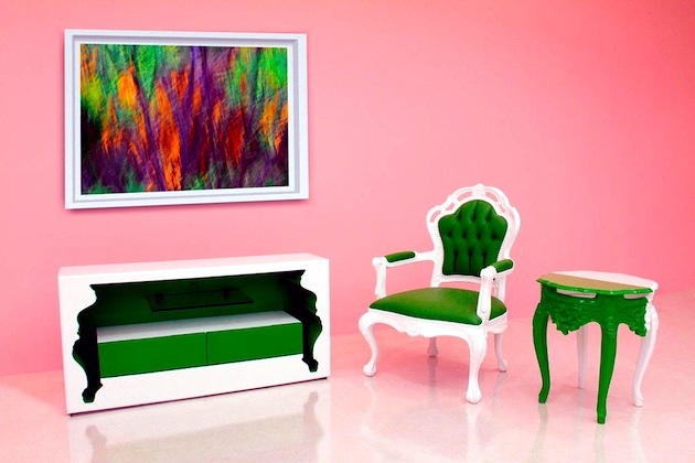 """Inside Out"" series of furniture Polart - Classic and modern at the same time"