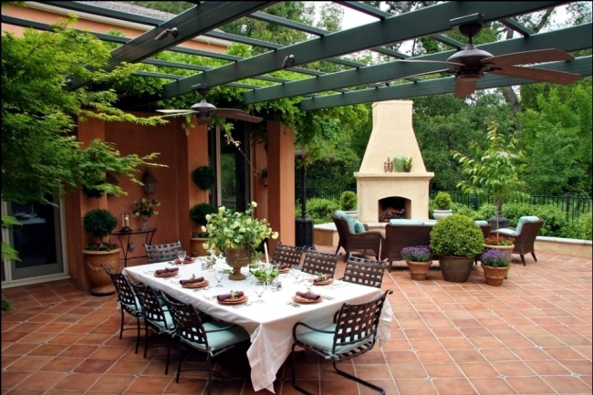 100 Design Ideas For Patios Roof Terraces And Balconies Interior