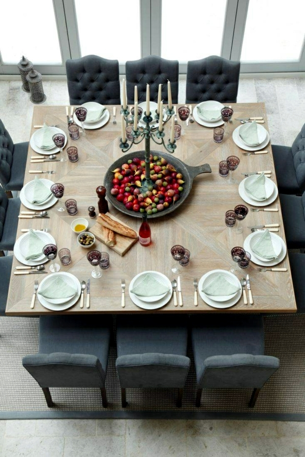 100 ideas for living room - design, table decoration, dining in the garden