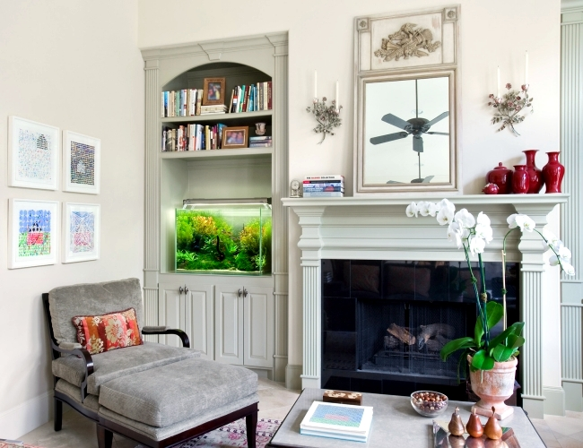 100 Ideas Integrate Aquarium Designs In