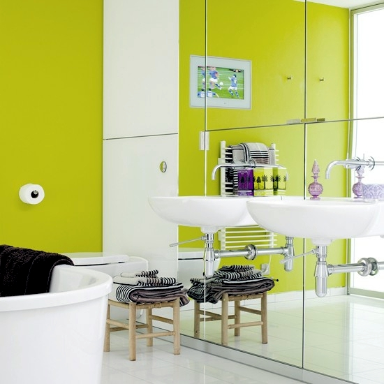 Bathroom Design Colors : Interior design ideas for bathroom decorating styles