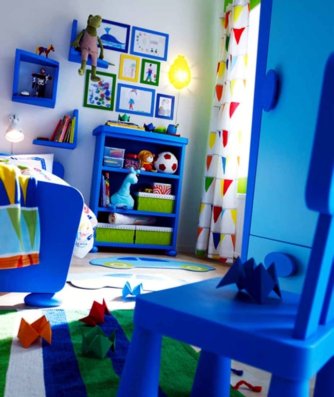Toddler Boy Room Ideas: 100 Interior Design Ideas For Kids Room With Bright Colors