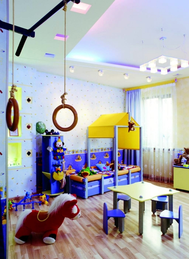 100 interior design ideas for kids room with bright colors for girls and boys