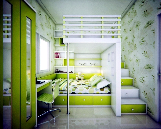 100 interior design ideas for kids room with bright colors for girls