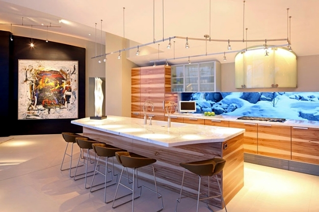 100 interior design ideas for the kitchen and the different styles of cuisine