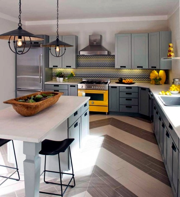 100 interior design ideas for the kitchen and the different styles ...