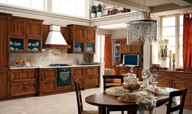100 interior design ideas for the kitchen and the - Different design of kitchen ...
