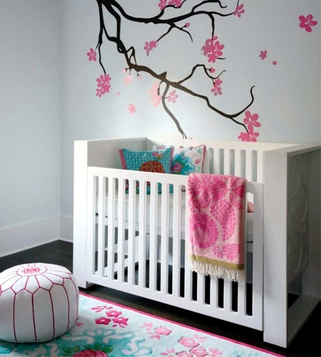 Interior Design Elegant Pink White Gray Baby Girl Room: 100 Living Ideas For Baby Rooms Represent The Best