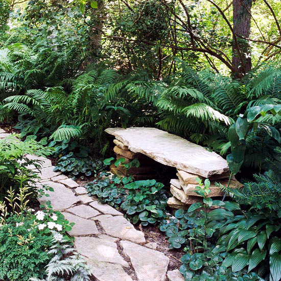 11 golden rules for attractive landscaping and garden order