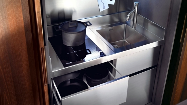 12 compact kitchen designs combine functionality with comfort