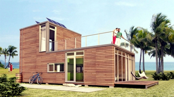 12 designer prefabricated houses combined with modern design ...