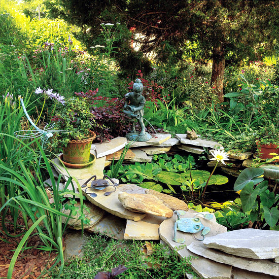 12 interesting ideas for garden wall of natural stone for your garden