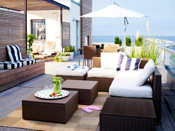 14 garden furniture ideas from ikea set up the patio teak wood patio sofa