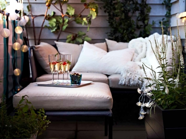 garden ideas ikea furniture for a way to lounge cheap and convenient in the garden