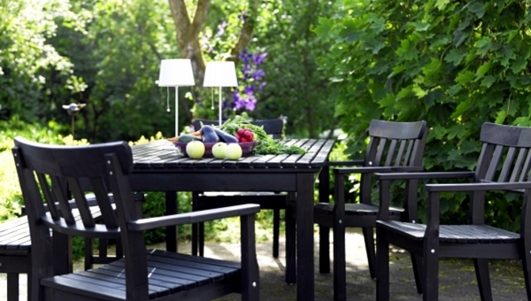 garden furniture ideas from ikea set up the patio nice and
