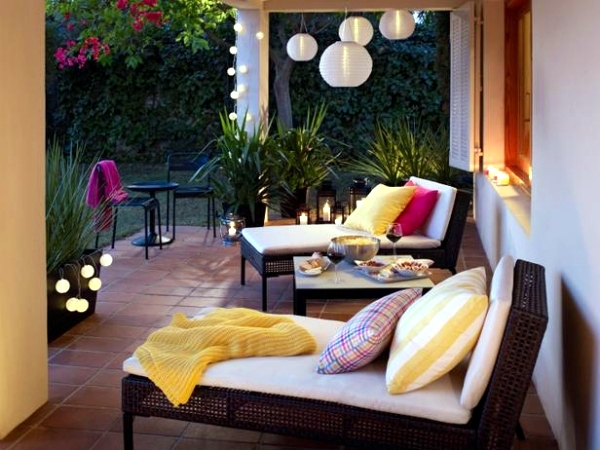 14 Garden Furniture Ideas from Ikea - set up the patio nice and cheap