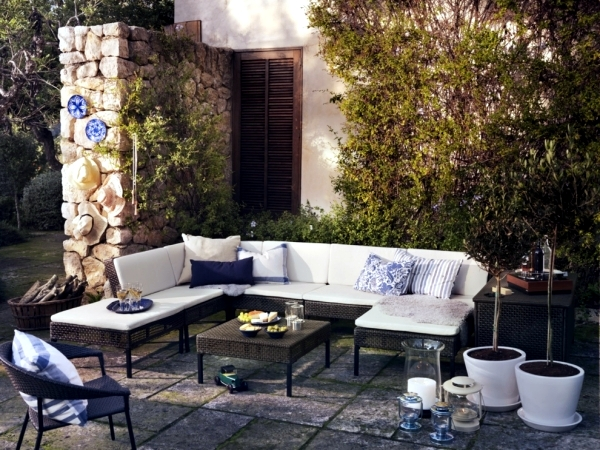 14 garden furniture ideas from ikea set up the patio nice and cheap interior design ideas for Patio furniture designs plans