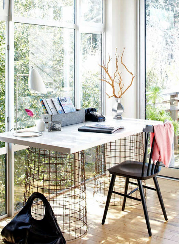 14 interesting and creative computer table designs do it yourself