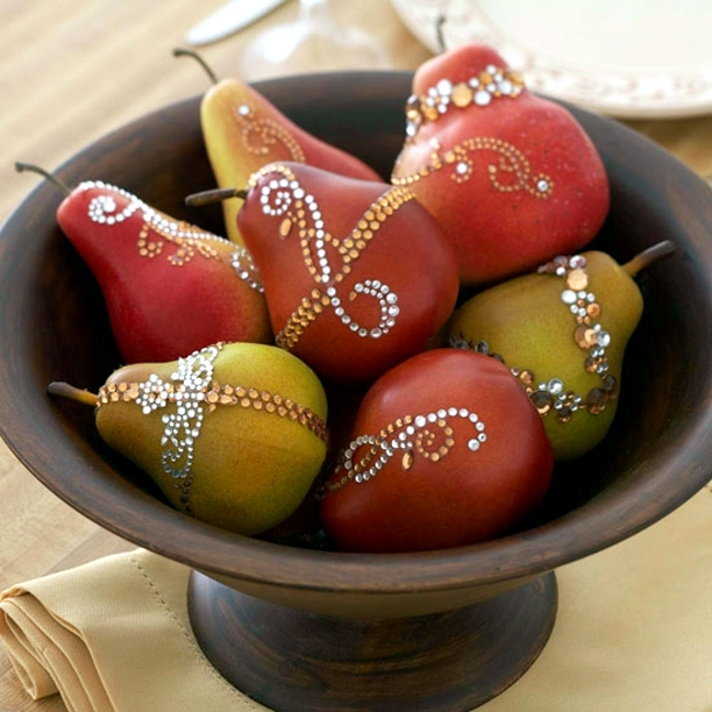 Decorative Flowers Fruits