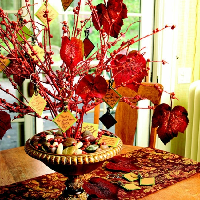 15 Autumn decoration ideas with flowers and fruits for home and garden