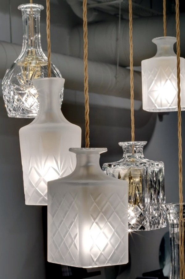 15 ideas for lighting to make yourself follow the trends upcycling
