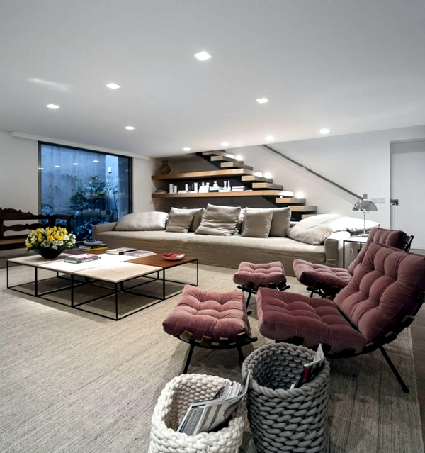 15 Ideas for Modern Living Room - design with neutral colors
