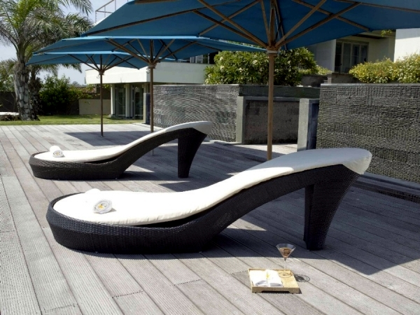 15 ideas for outdoor furniture design as an exciting eye-catcher in the  garden - 15 Ideas For Outdoor Furniture Design As An Exciting Eye-catcher In