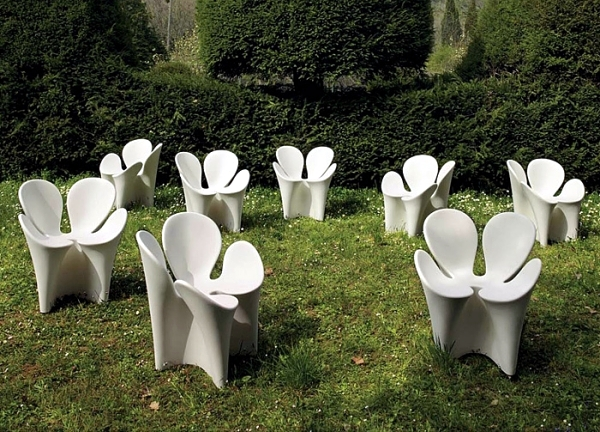 15 ideas for outdoor furniture design as an exciting eye-catcher in the garden