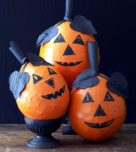 15 Ideas For Pumpkin Decoration For Halloween To Make Your