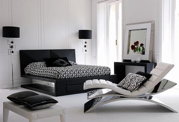 15 Modern Bedroom Designs In Black And White Color Palette Interior Design