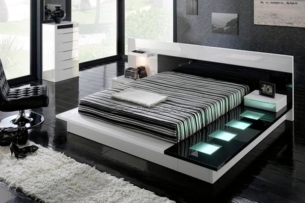 Ultra Modern Bedrooms 15 modern bedroom designs in black and white color palette