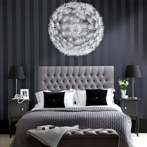 lovely black white modern bedroom | 15 modern bedroom designs in black and white color palette ...
