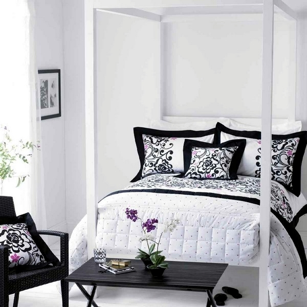 15 modern bedroom designs in black and white color palette