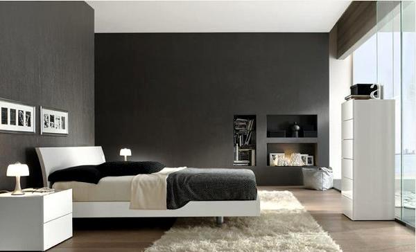 15 modern bedroom designs in black and white color palette