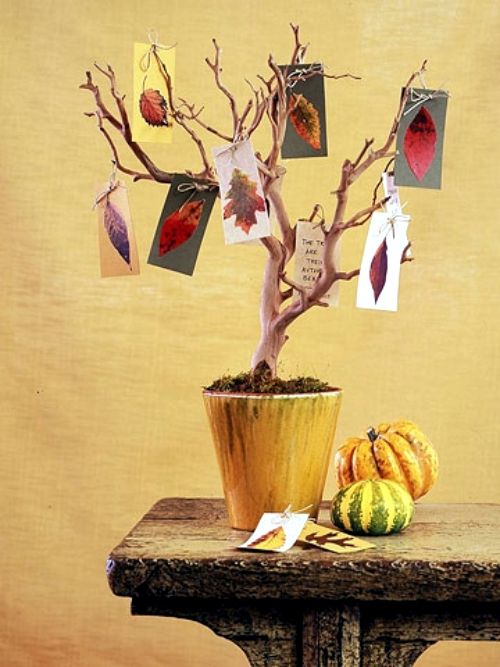 17 Autumn decoration ideas impress with originality and naturalness